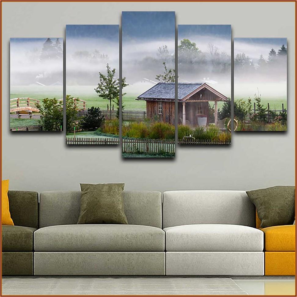 Wohnzimmer Bilder Landschaft