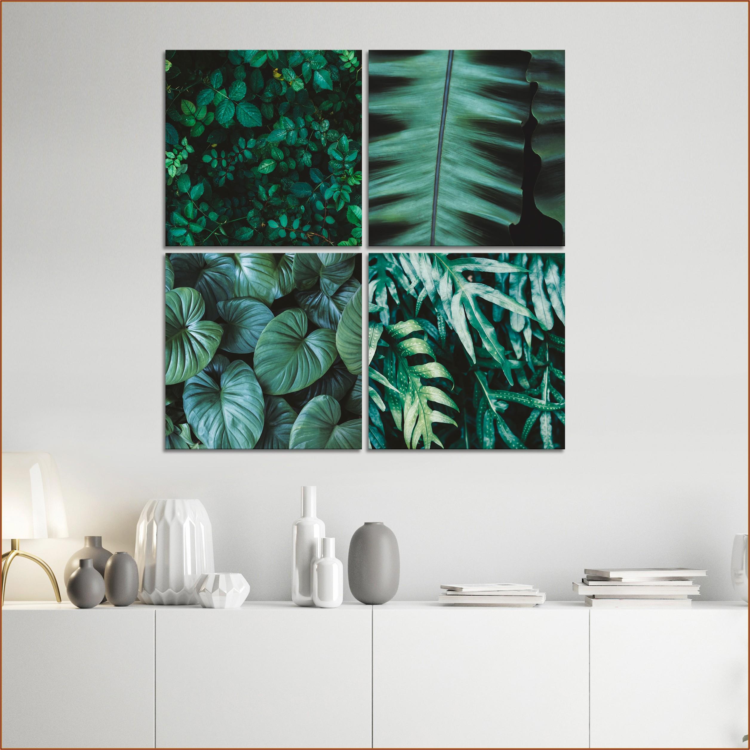 Wohnzimmer Bilder Pflanzen Motive
