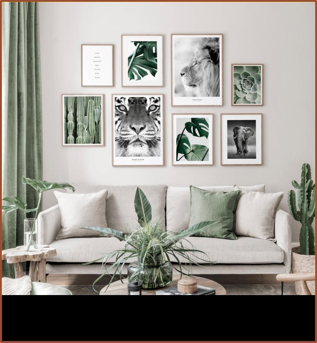Wohnzimmer Bilderwand