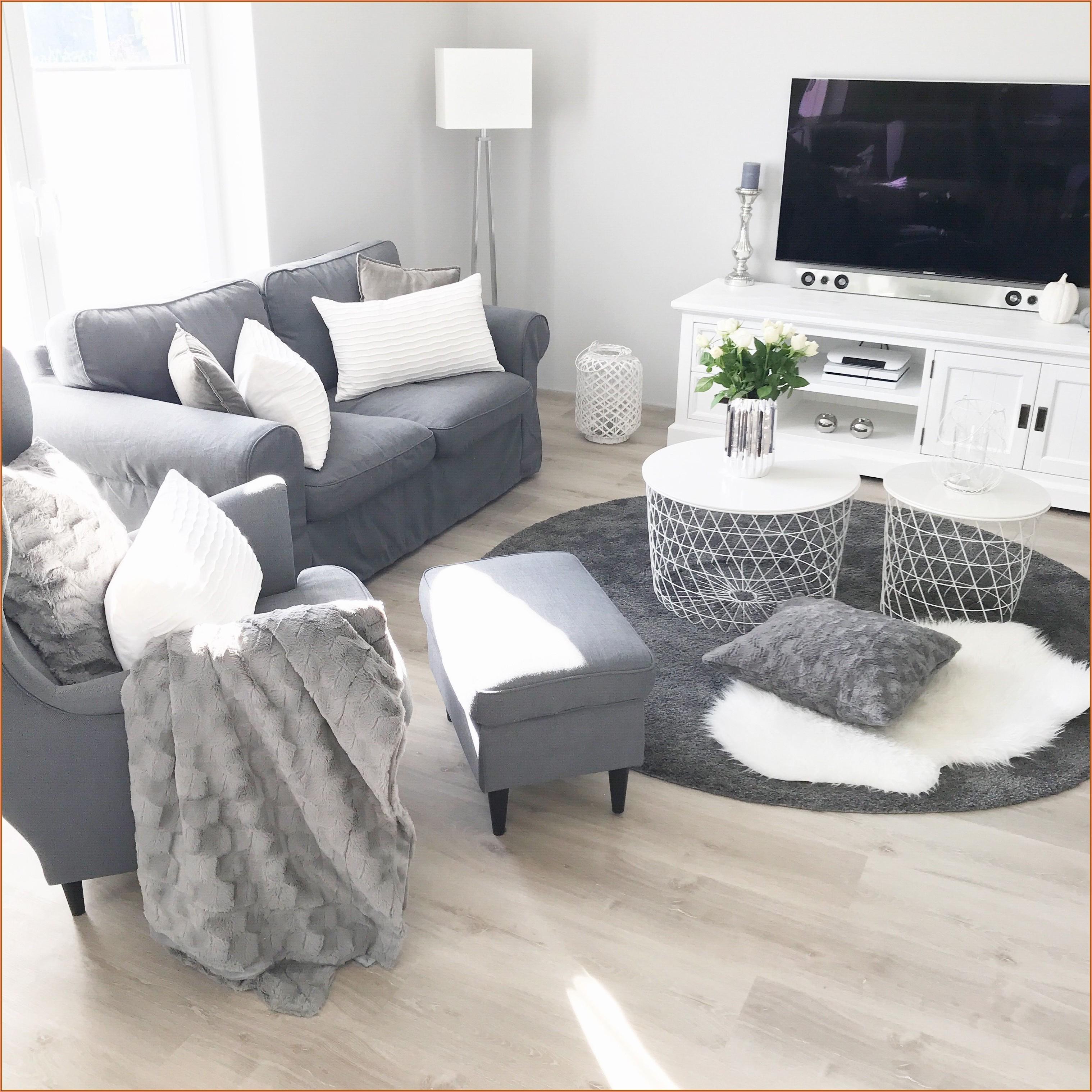 Wohnzimmer Grau Weiß Bilder