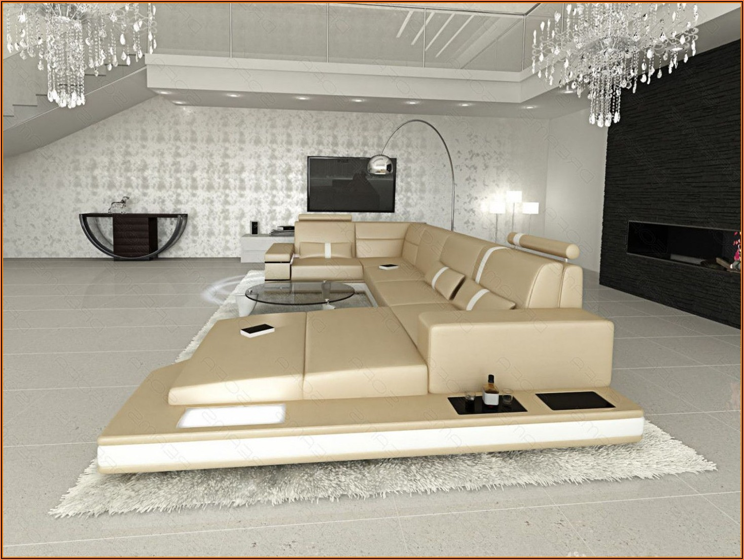 Wohnzimmer Modern Luxus Bilder