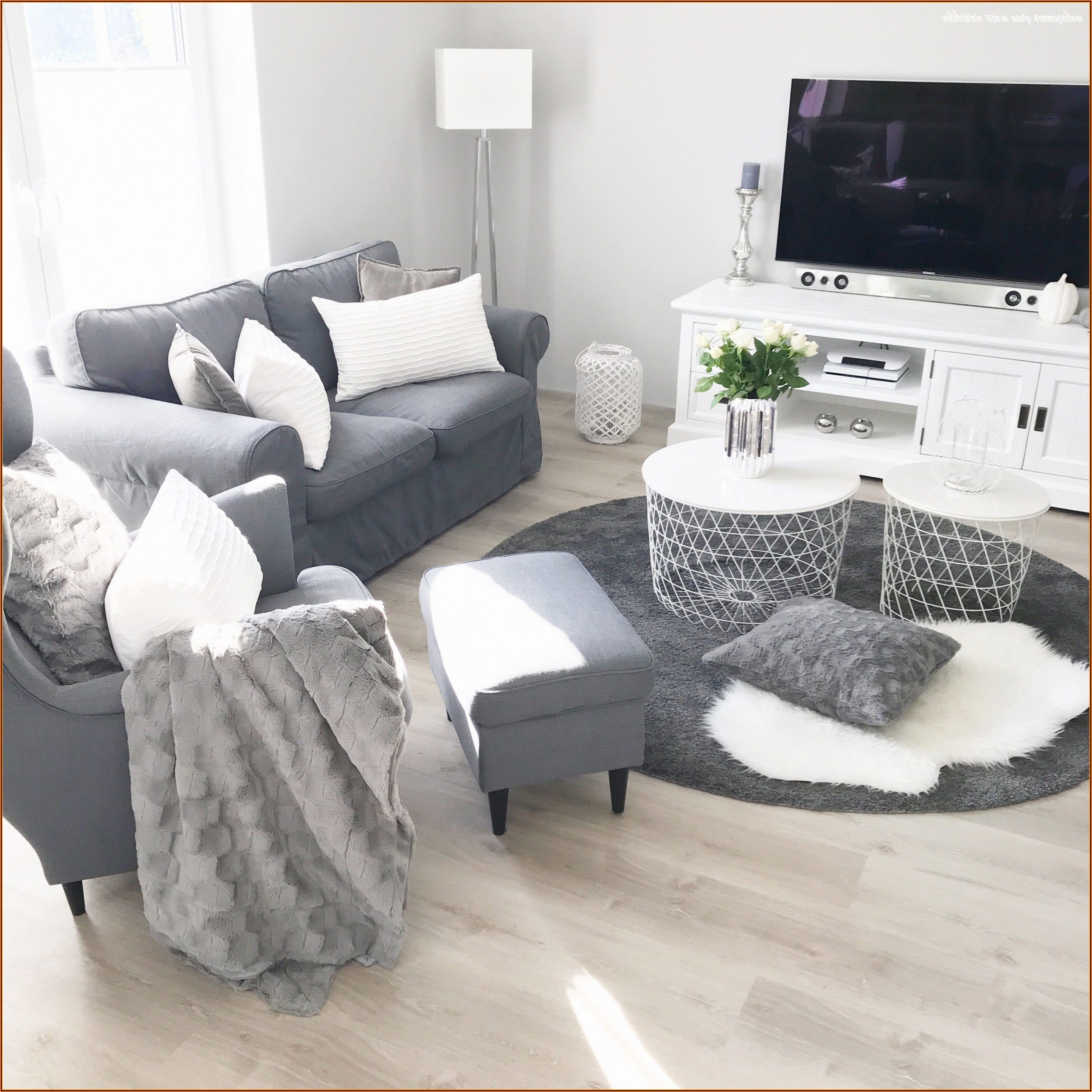 Wohnzimmer Weiß Bilder