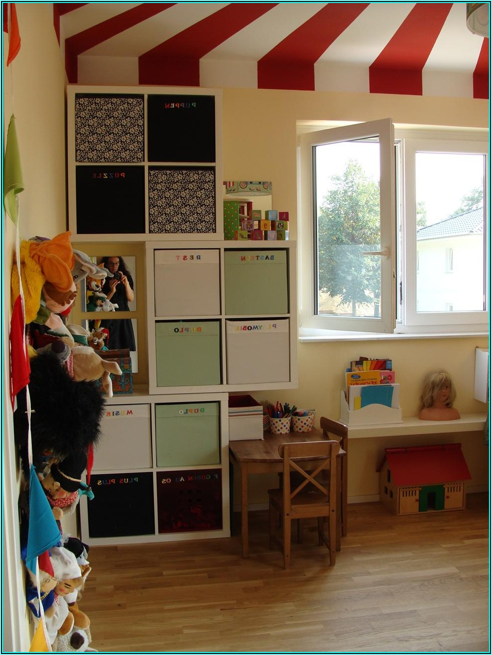 Ideen Aufbewahrung Kinderzimmer