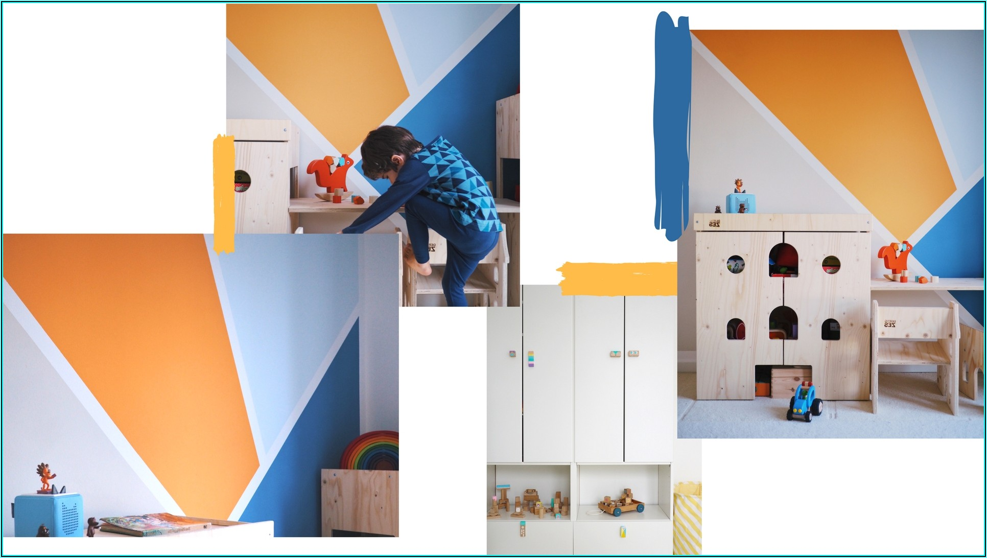 Ideen Streichen Kinderzimmer