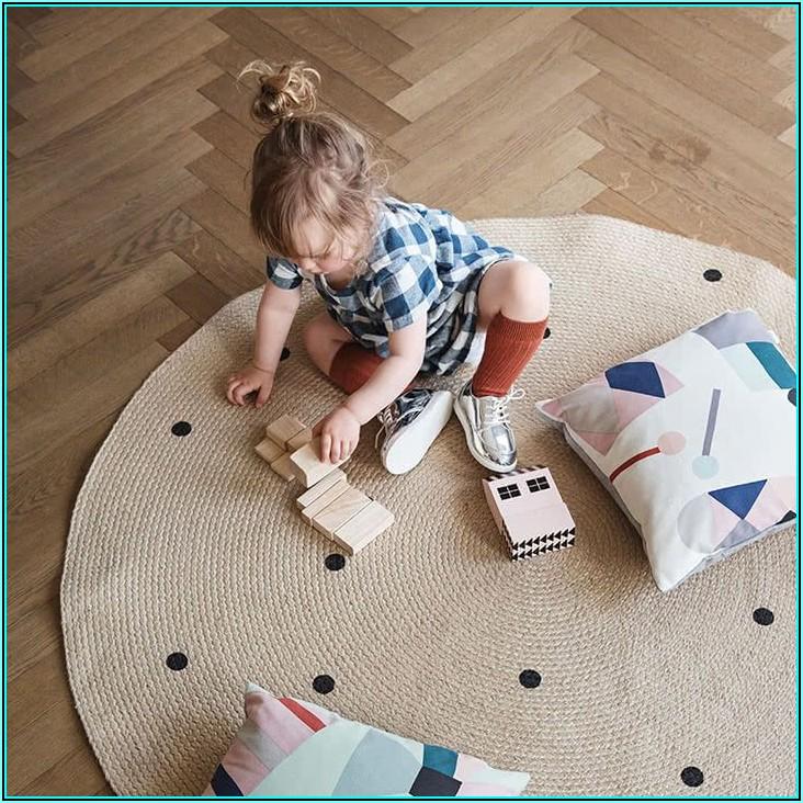 Jute Teppich Rund Kinder