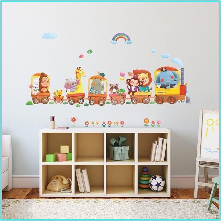 Kinderzimmer Aufkleber Wand