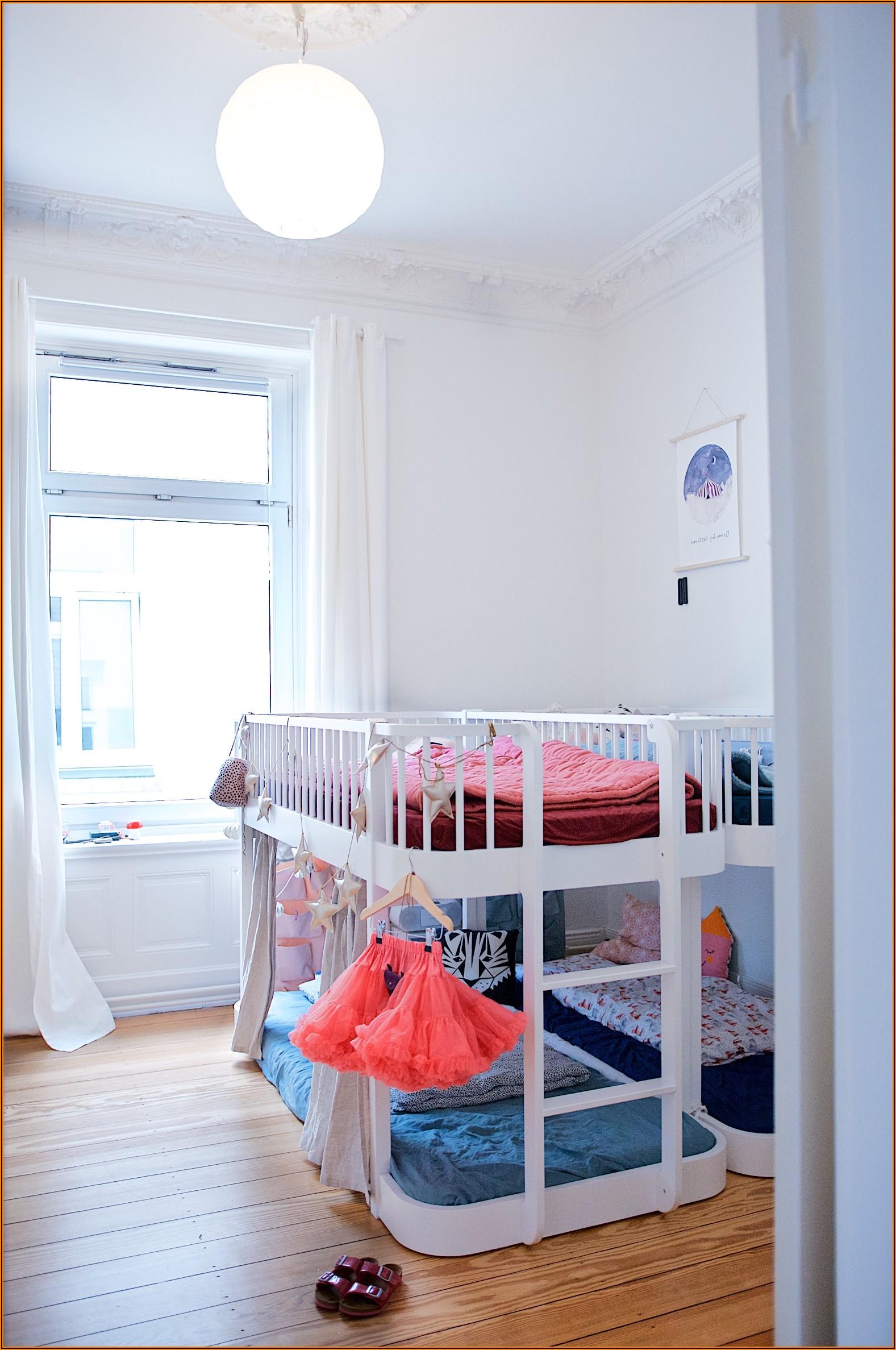 Kinderzimmer Bett Unter Fenster