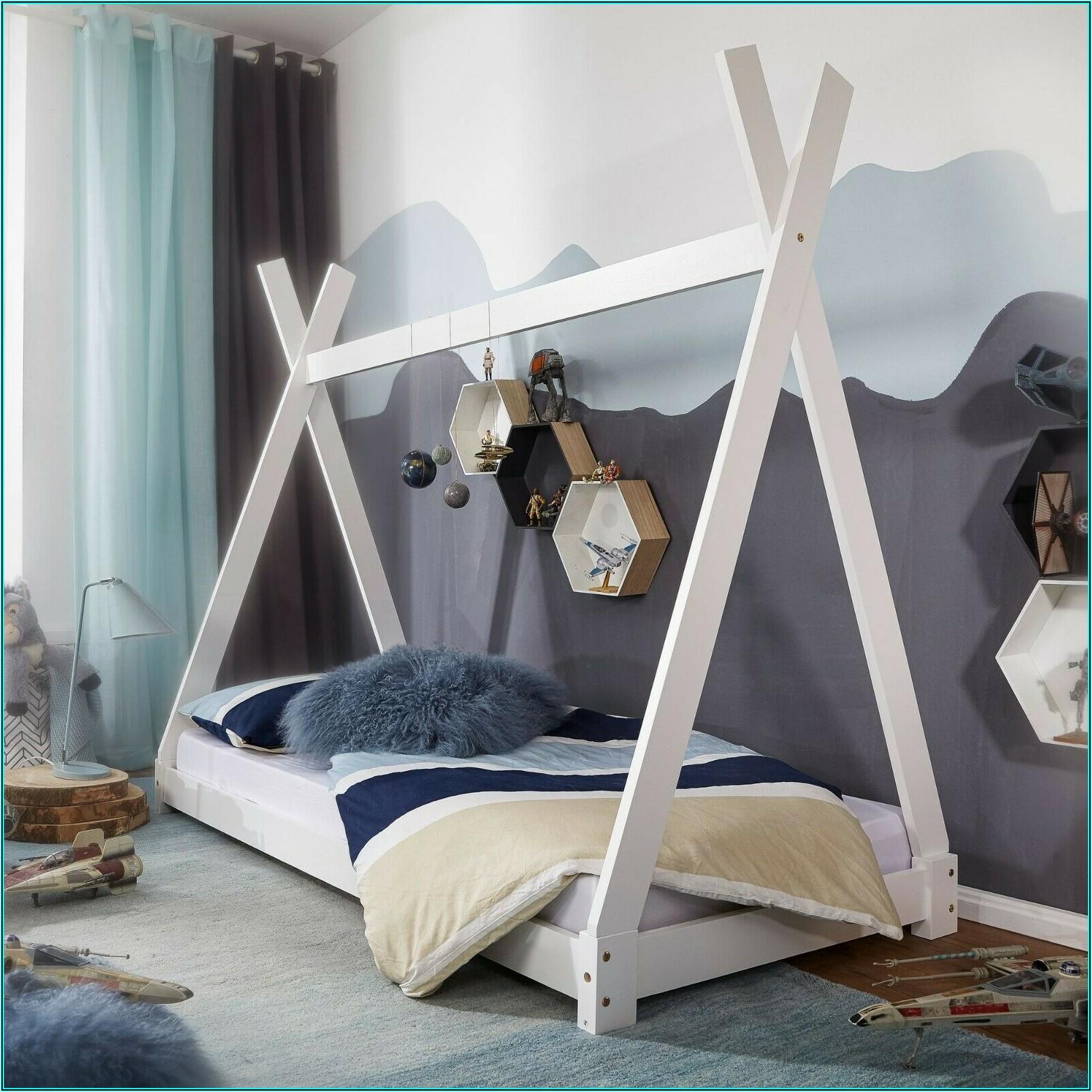 Kinderzimmer Bett Weiss