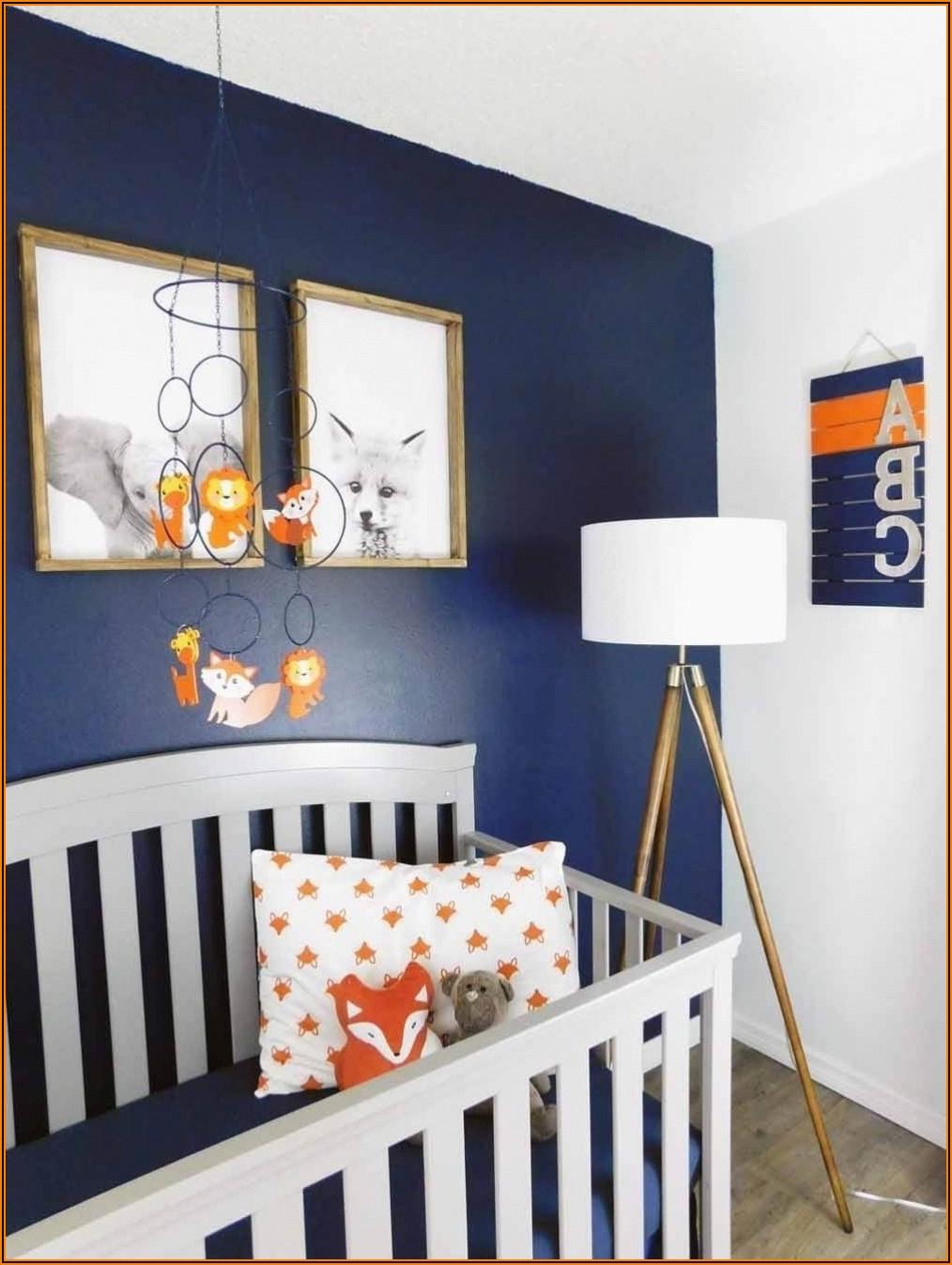 Kinderzimmer Blau Orange