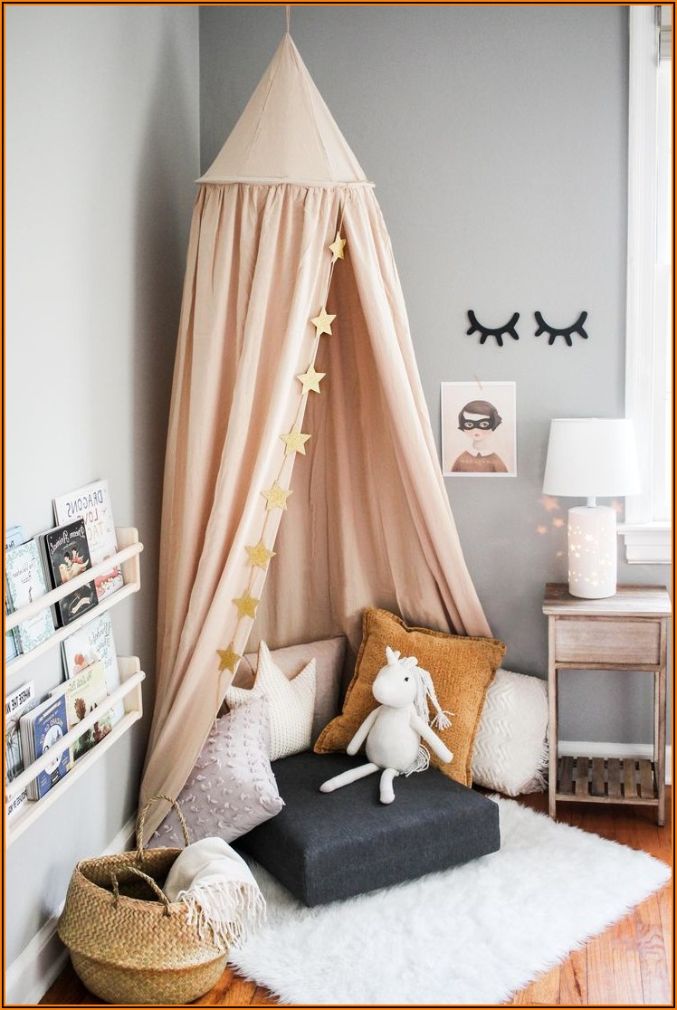 Kinderzimmer Deko Bett