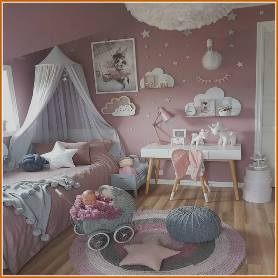 Kinderzimmer Deko Mädchen 6 Jahre