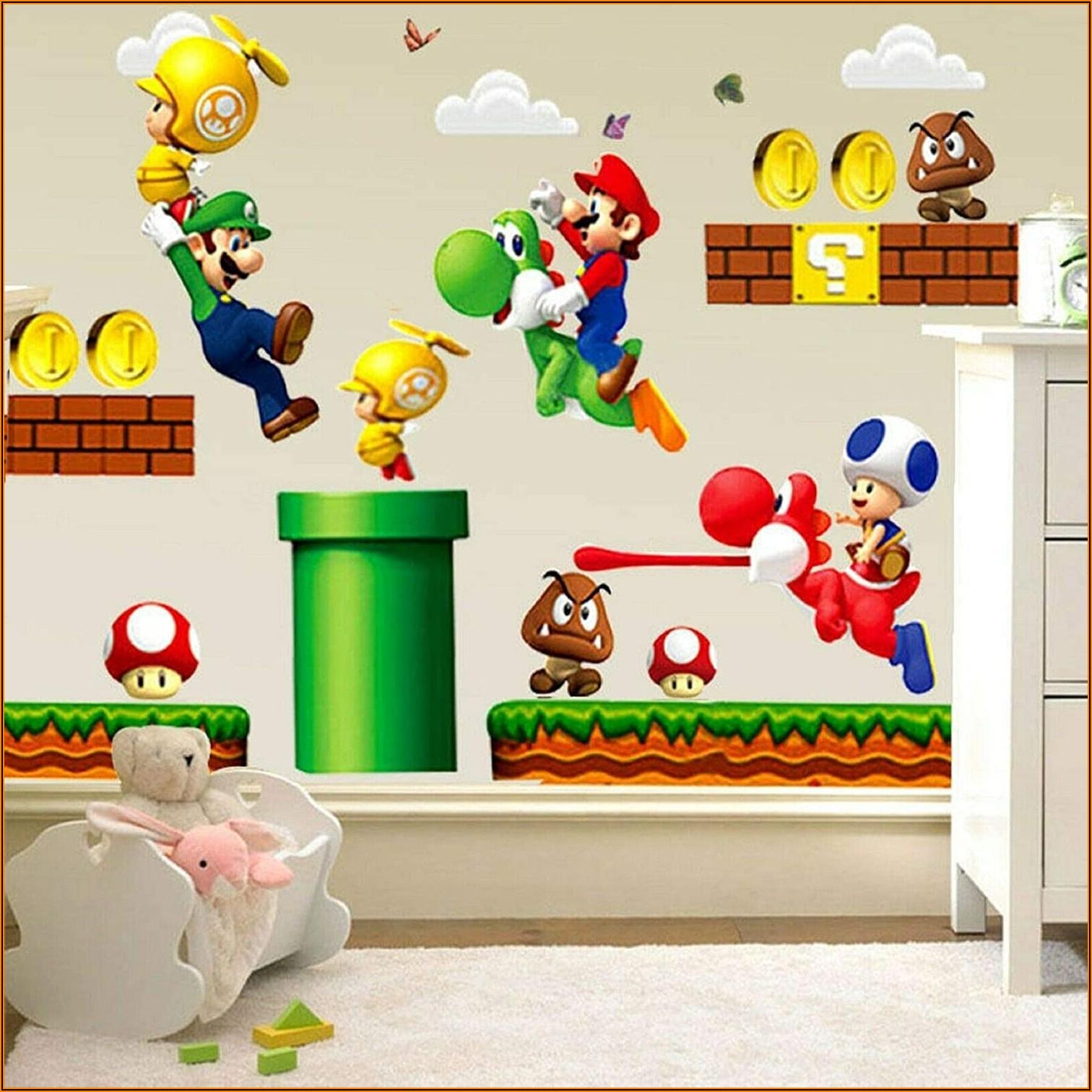 Kinderzimmer Deko Super Mario