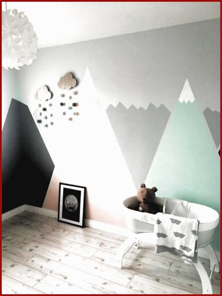 Kinderzimmer Gestalten Wand Mädchen
