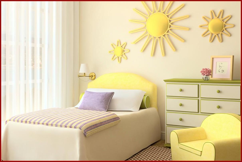 Kinderzimmer Grün Gelb Streichen