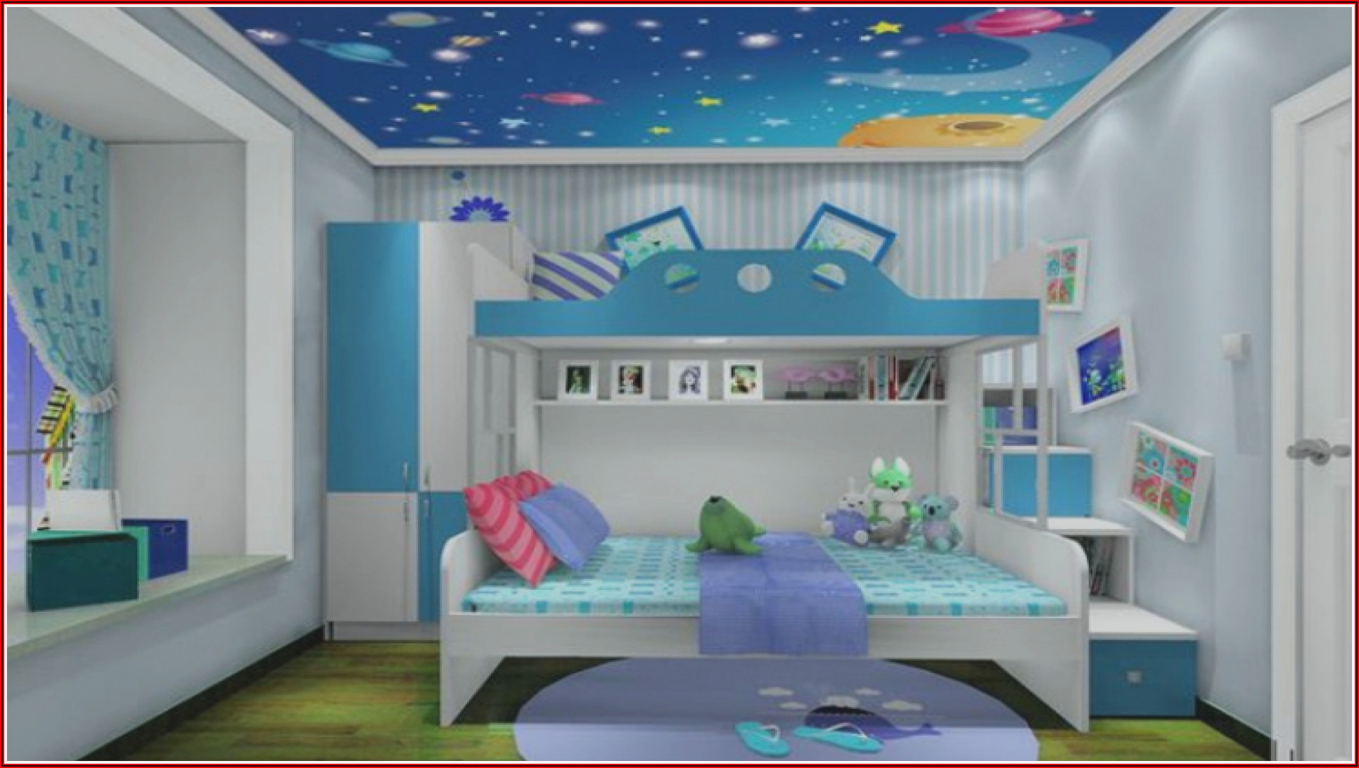 Kinderzimmer Mädchen Und Junge Gestalten