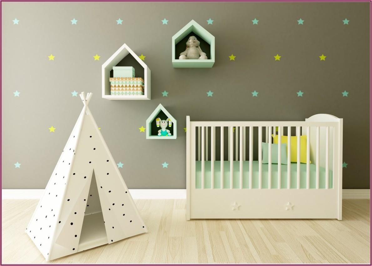 Babyzimmer Mädchen Ideen Grau Rosa