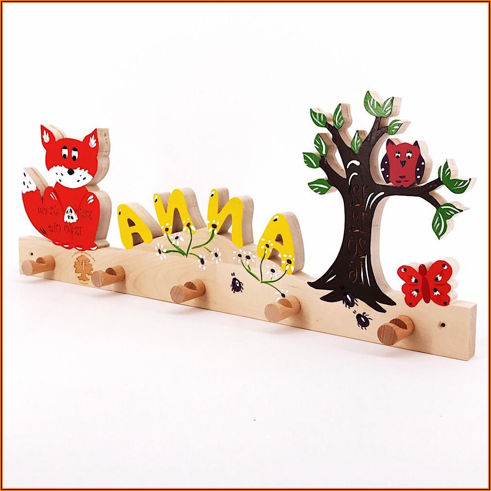 Kinderzimmer Baum Holz