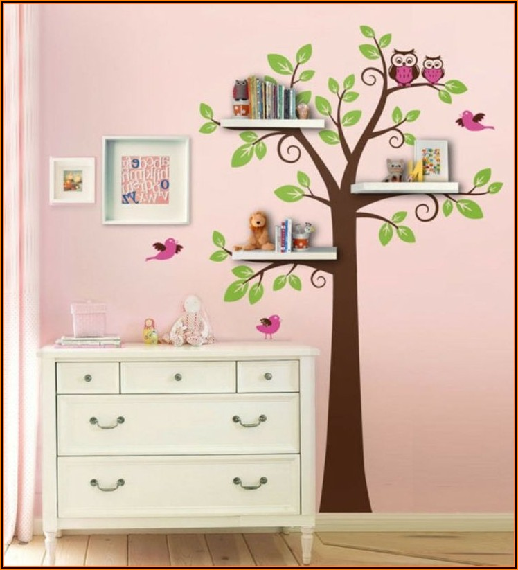 Kinderzimmer Baum Regal