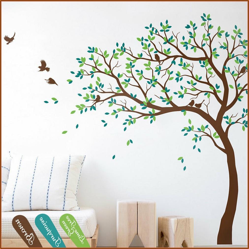 Kinderzimmer Baum Wand