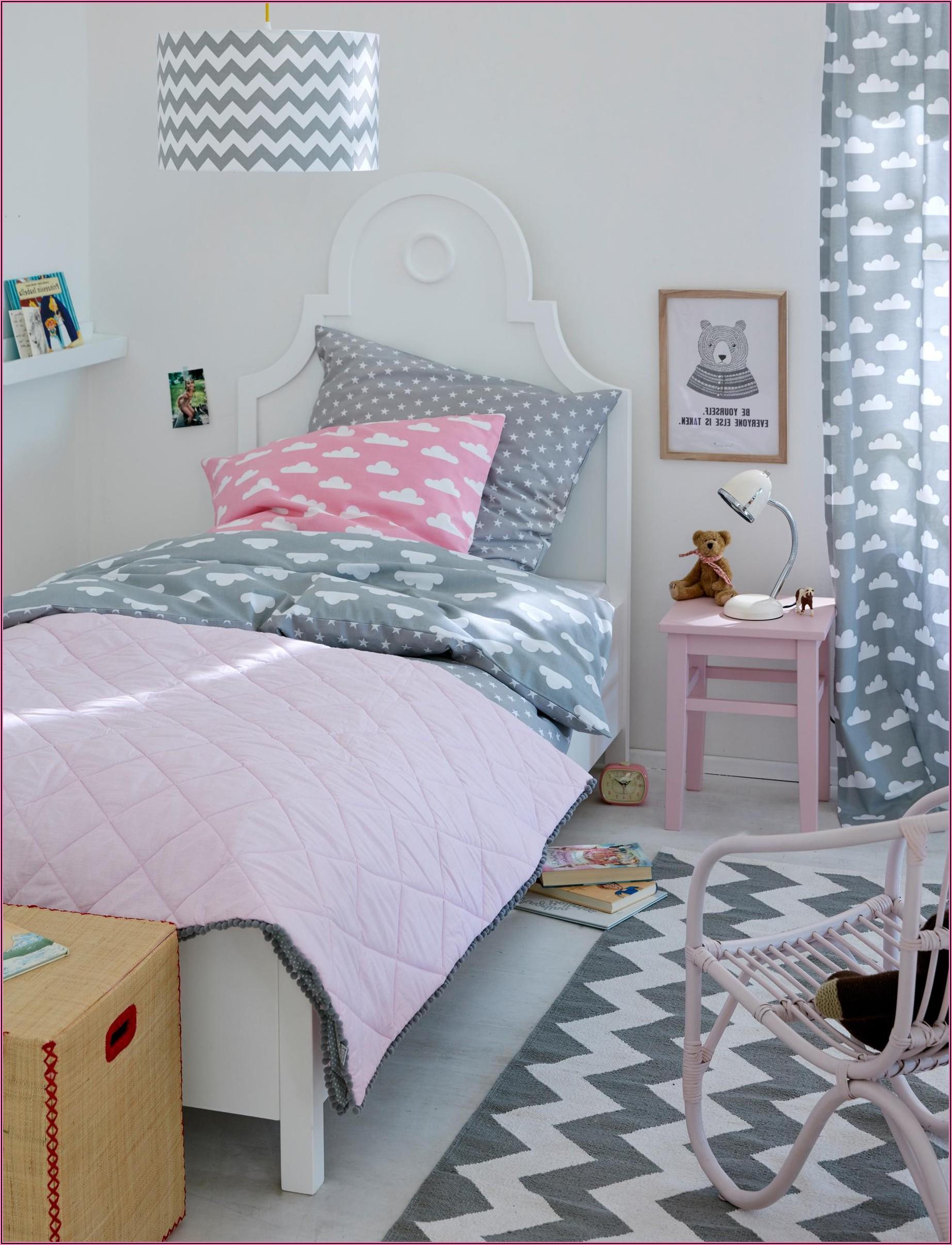 Kinderzimmer In Grau Rosa