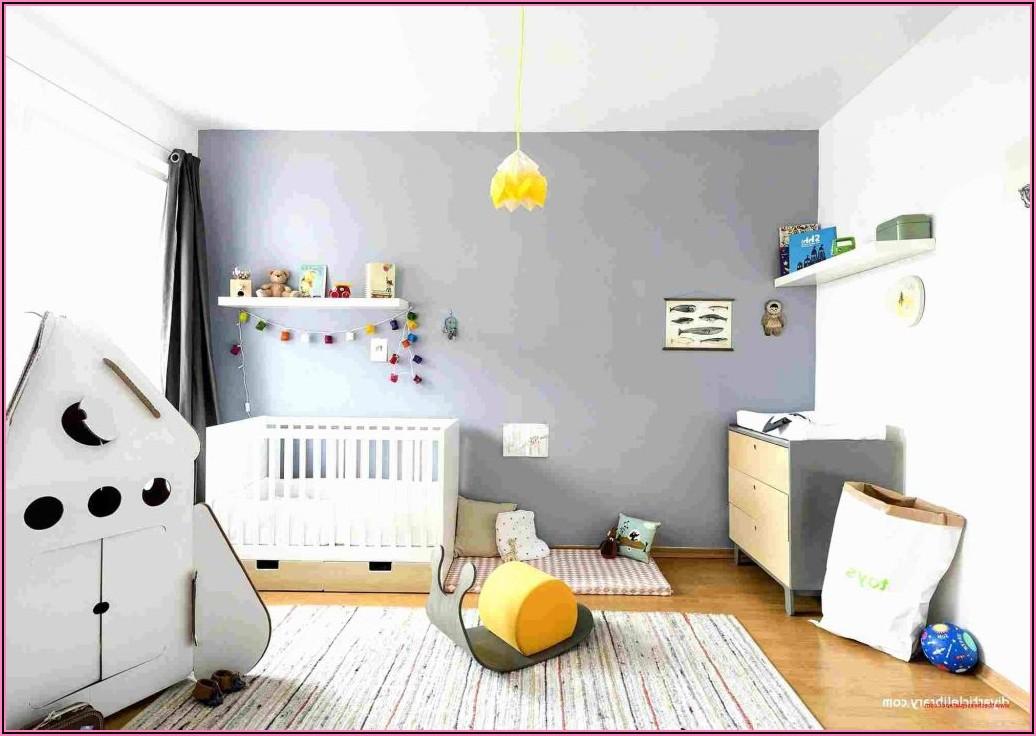 Kinderzimmer Junge Grün Streichen