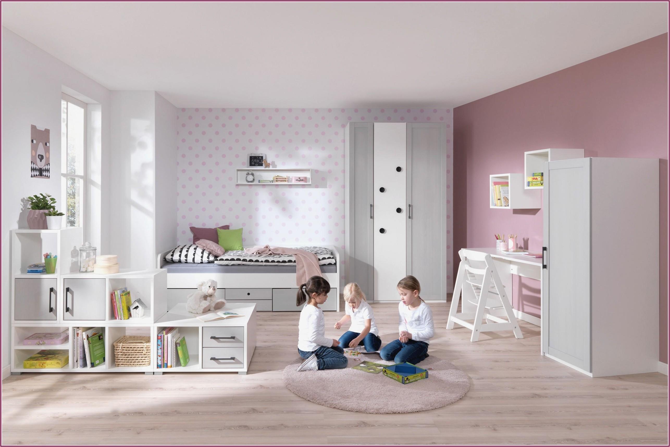 Kinderzimmer Rosa Grau Weiss
