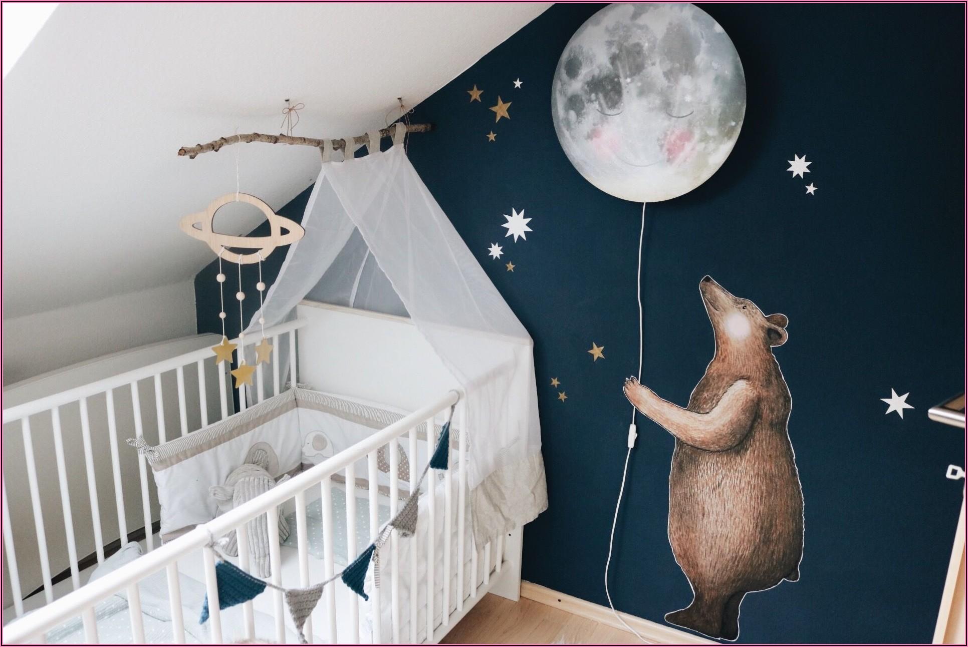 Mondlampe Kinderzimmer Bär