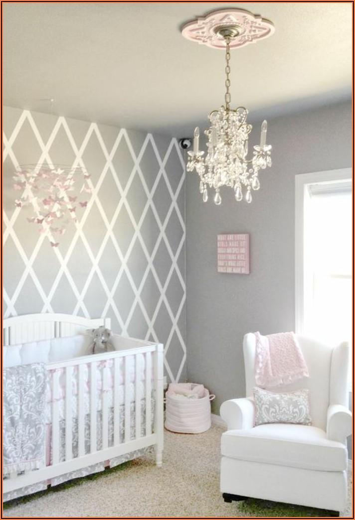 Babyzimmer Grau Weiß Rosa