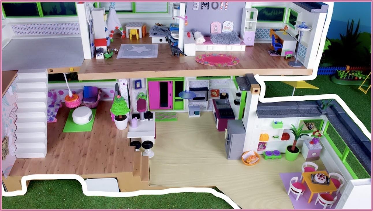Familie Hauser Pimp My Playmobil Luxusvilla Kinderzimmer