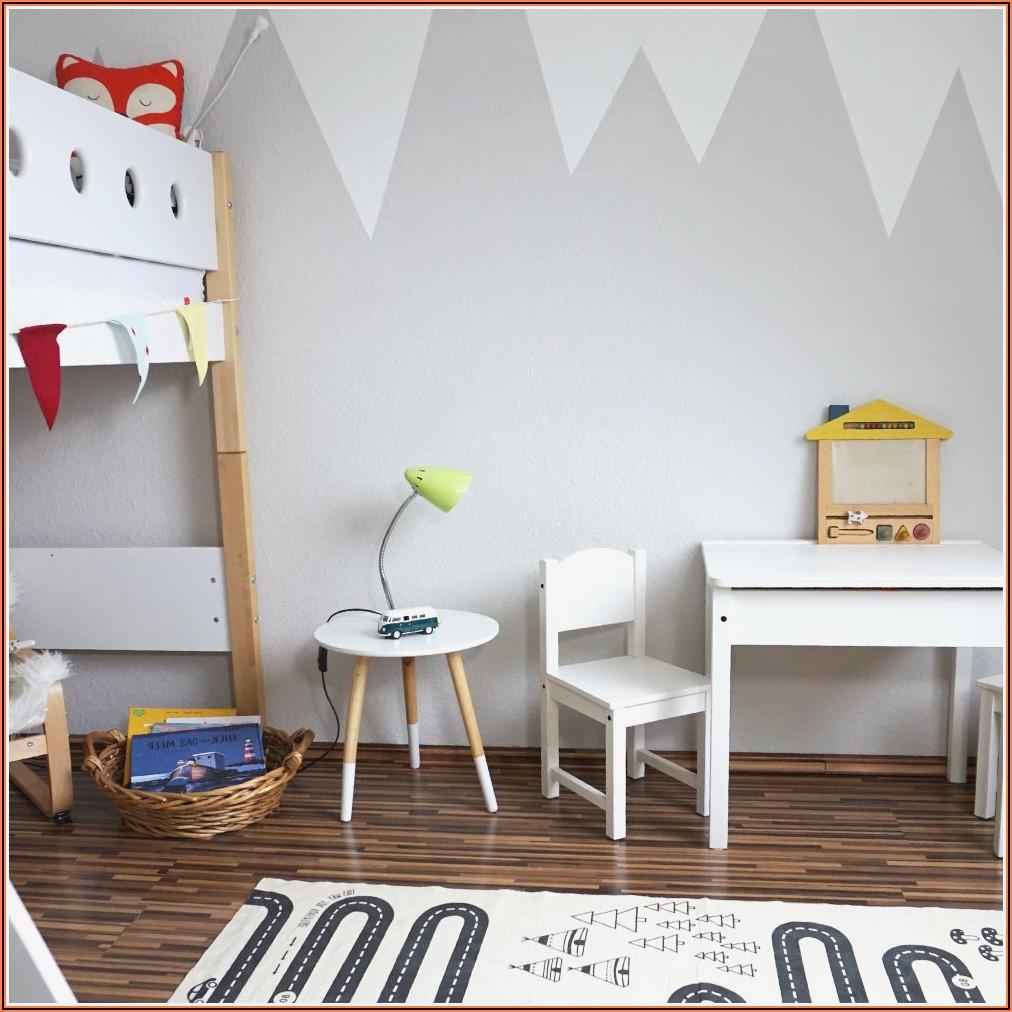 Kinderzimmer Junge Wandgestaltung Berge