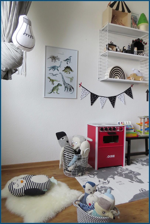 Kinderzimmer Rot Weiß Blau