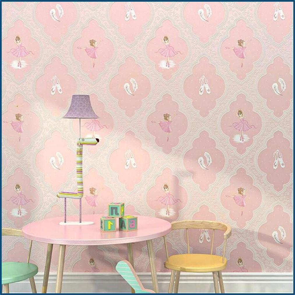 Kinderzimmer Tapete Für Mädchen