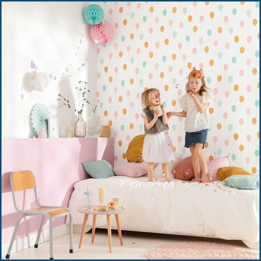 Kinderzimmer Tapete Vlies Mädchen