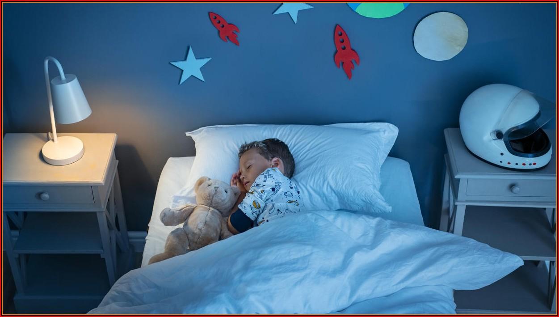 Kinderzimmer Temperatur Schlafen