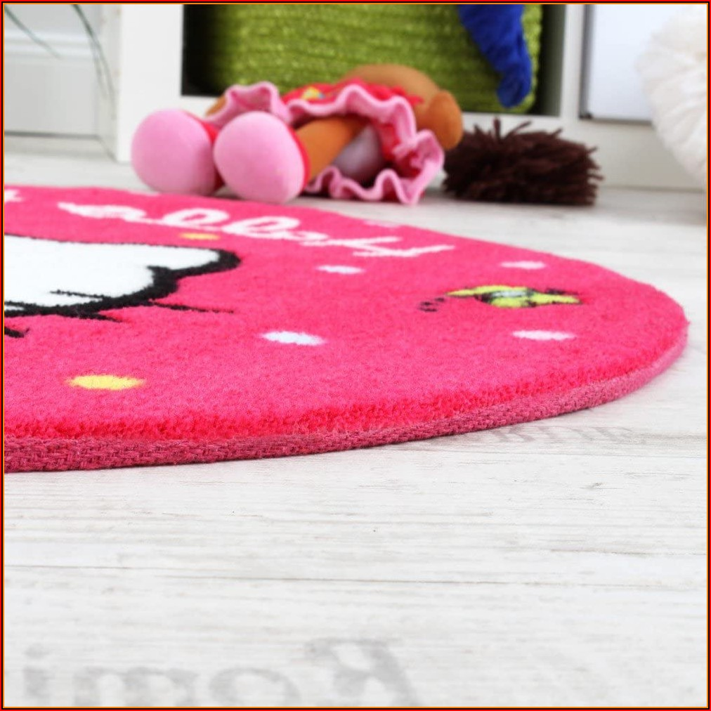 Kinderzimmer Teppich Hello Kitty