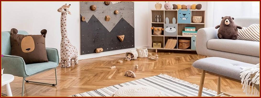 Kinderzimmer Teppich Junge Und Mädchen