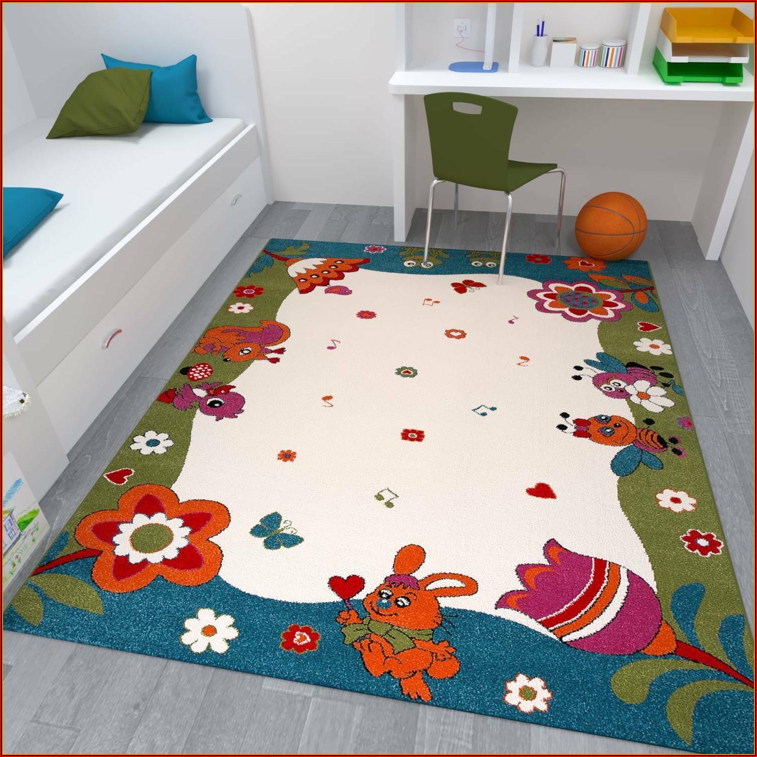 Kinderzimmer Teppich Mädchen Ebay