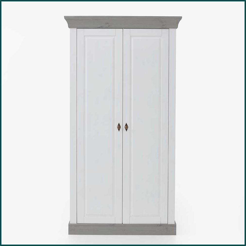 Kleiderschrank Kinderzimmer Weiß Grau