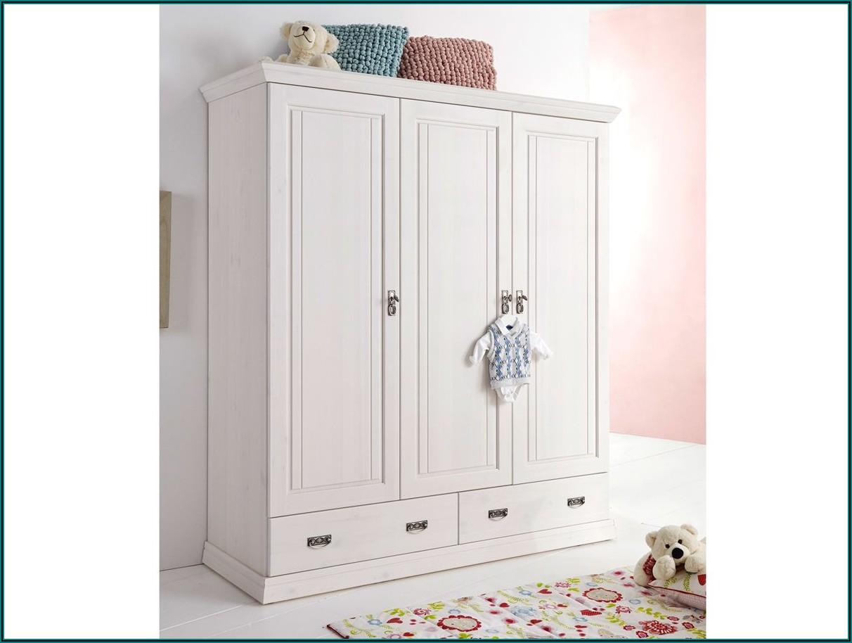Kleiderschrank Kinderzimmer Weiß Holz