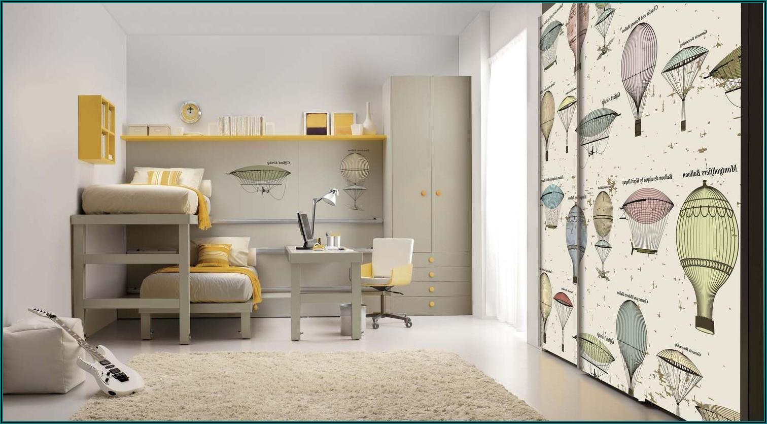 Kleines Kinderzimmer Mit Etagenbett
