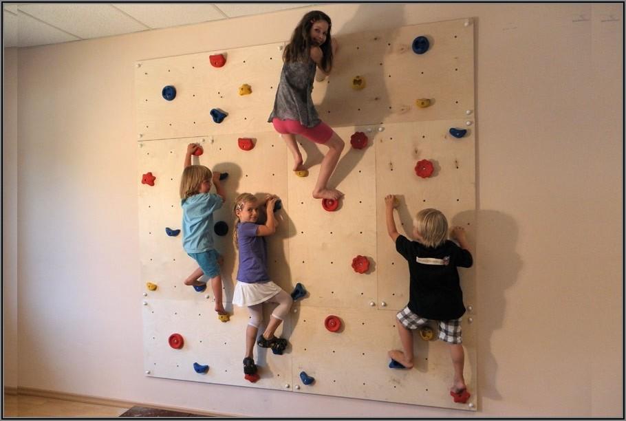 Kletterwand Für Kinder Selber Bauen