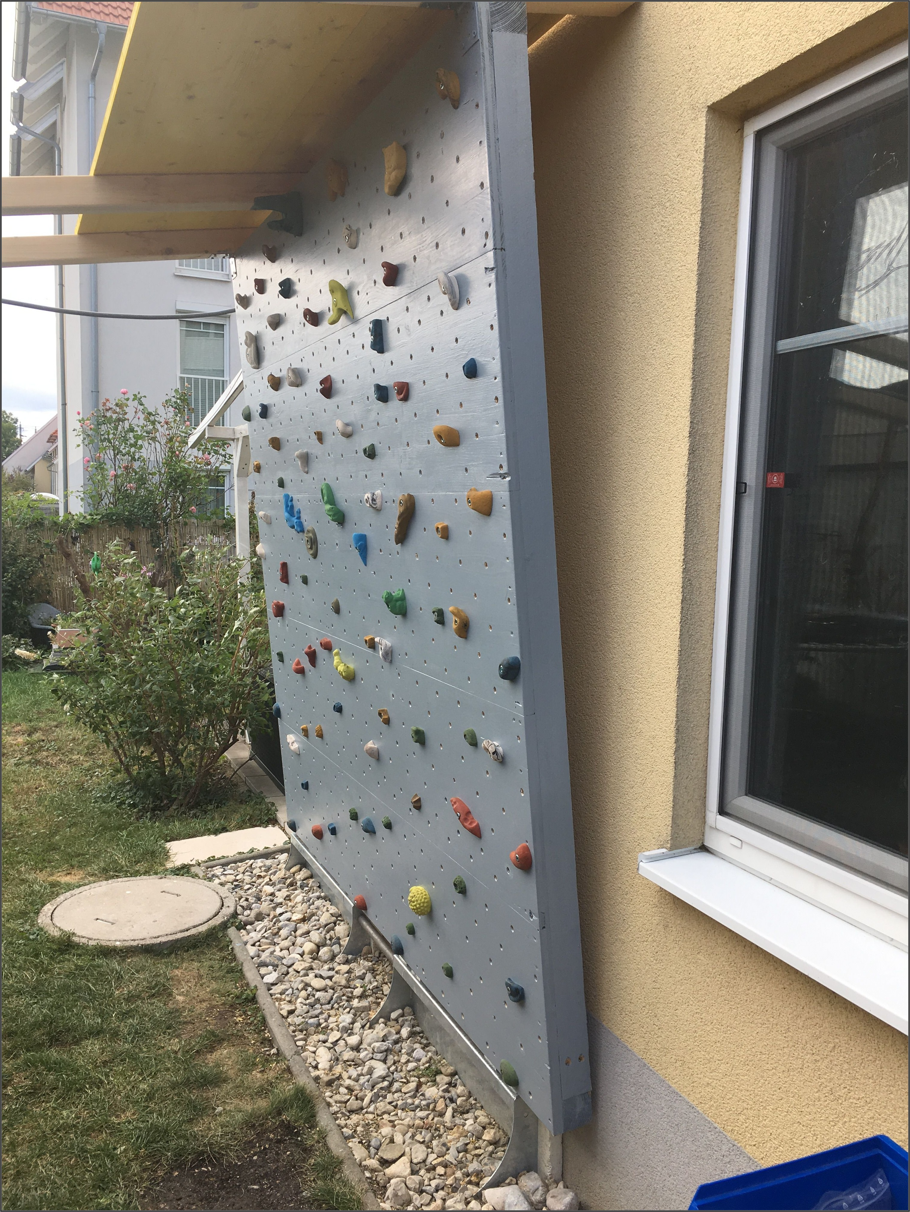 Kletterwand Outdoor Kinder Selber Bauen