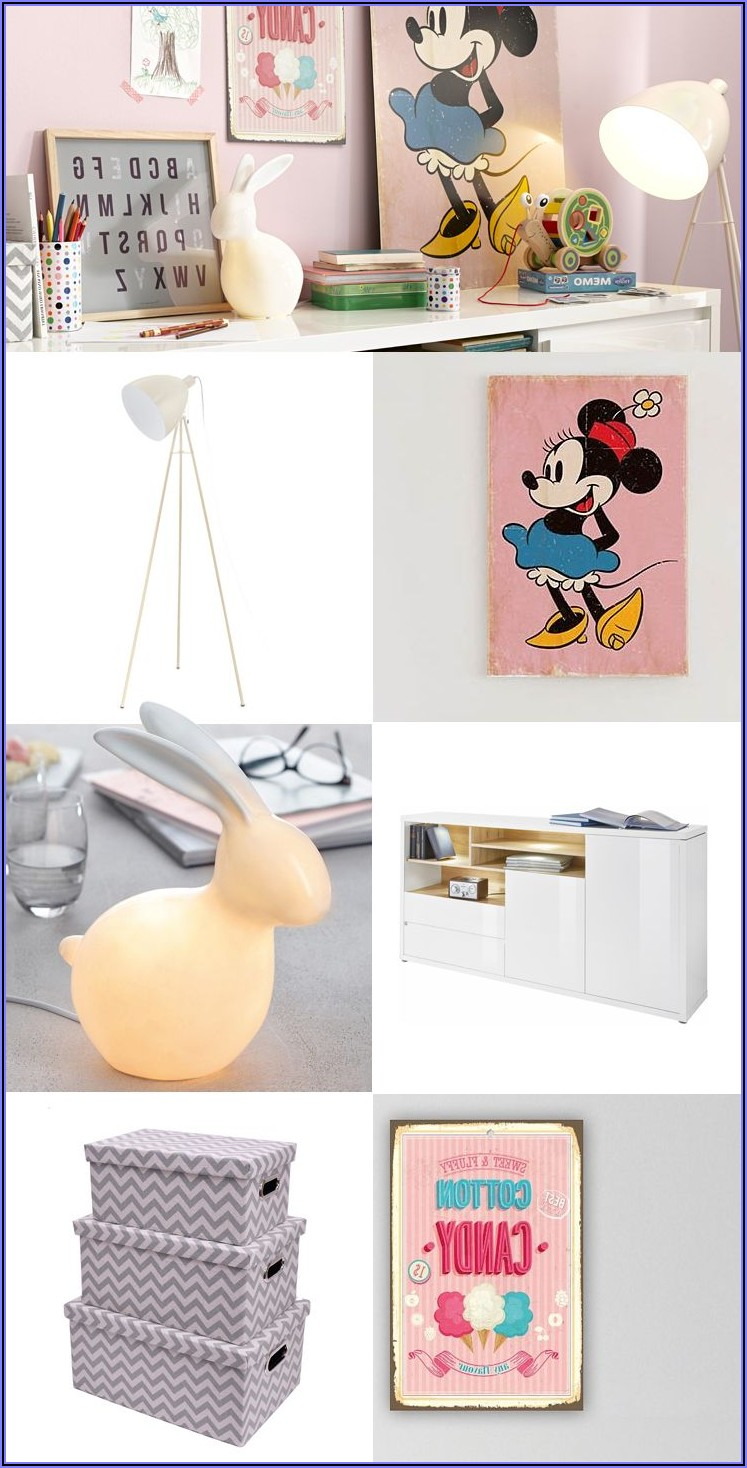 Minnie Maus Kinderzimmer Deko