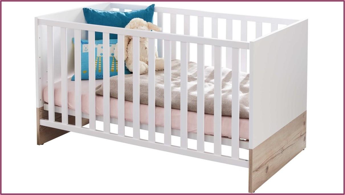 Paidi Kinderbett Eiche Weiß