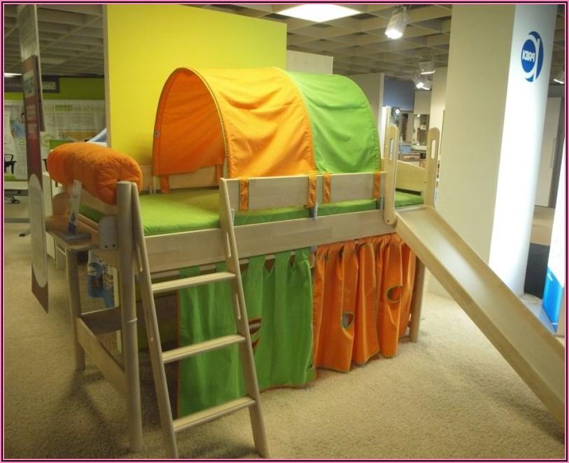 Paidi Kinderbett Mit Rutsche
