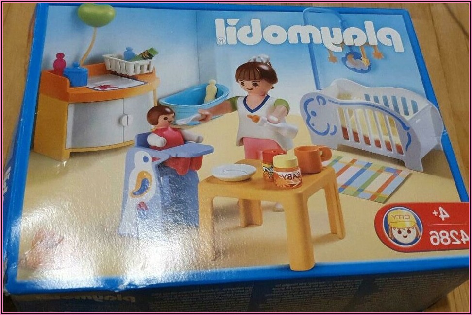 Playmobil Kinderzimmer Baby