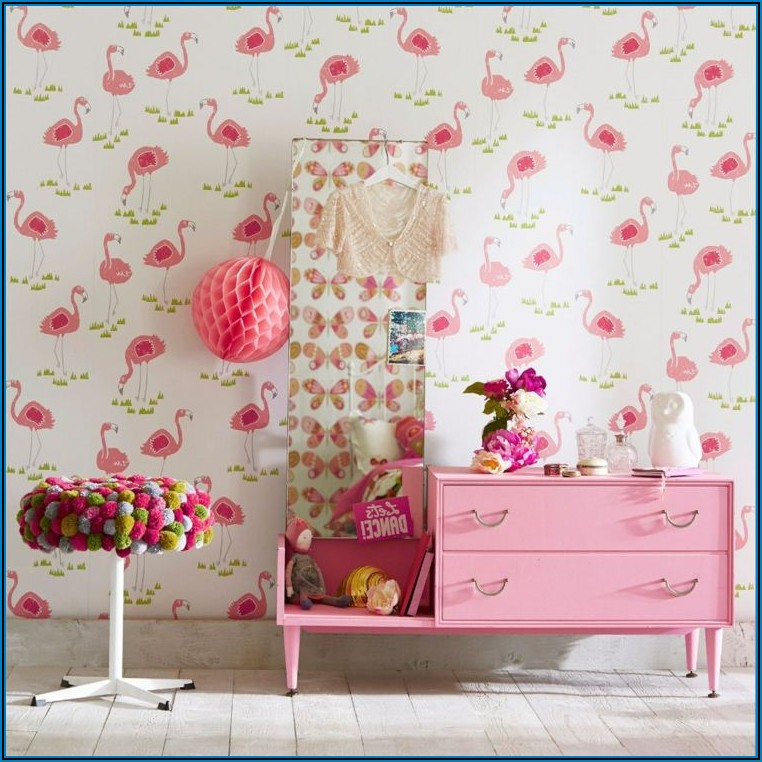 Tapete Kinderzimmer Mädchen Rosa