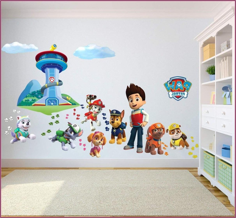 Wandtattoo Kinderzimmer Paw Patrol