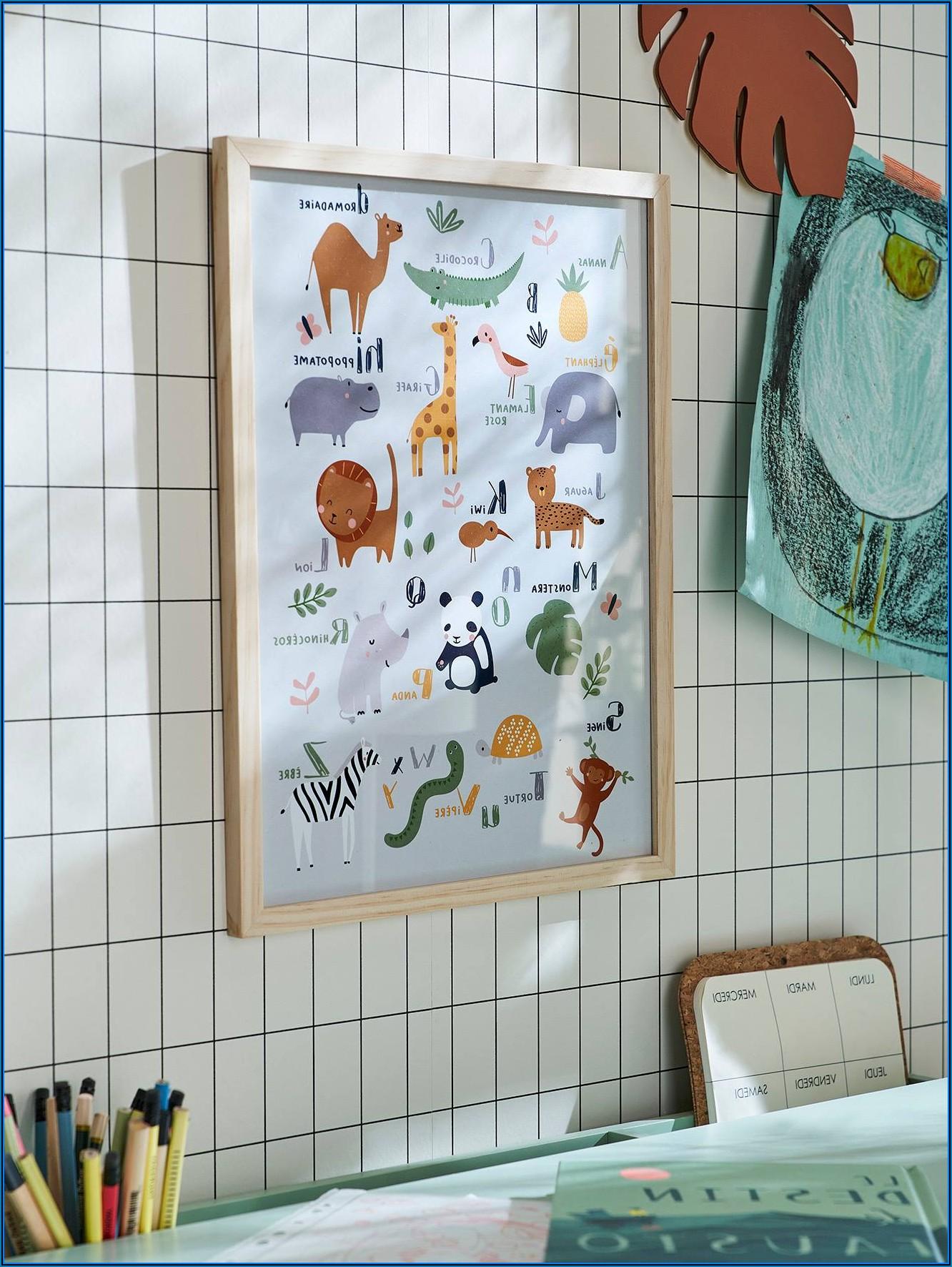Poster Mit Rahmen Kinderzimmer