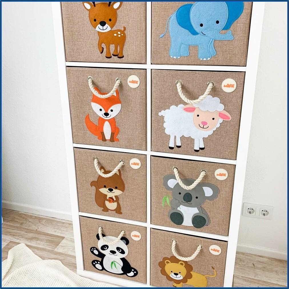 Regal Mit Boxen Für Kinderzimmer